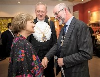 Baroness Nicholson, Sheriff Peter Estlin and Deputy Master Alex Galloway